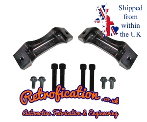VW MK1 Golf / Caddy 280mm Porsche Brembo Brake Adapters