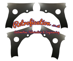 VW MK2 Golf Corrado Caddy Wishbone / Track Control Arm Strengthening Plates