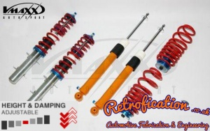 VW MK3 Golf / Vento V-Maxx Coilover Lowering Kit Xxtreme