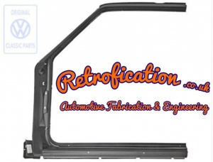 GENUINE VW MK1 Golf / Jetta / Caddy ''A'' Pillar & Outer Sill Section (Left)