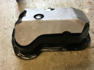 Volkswagen Golf Caddy Weld-On Sump Guard / Bash Plate
