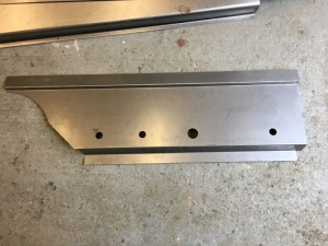 VW MK1 Caddy Pickup Rear Turret Inner Sill