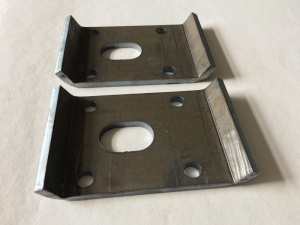 VW MK1 Caddy Pickup U-Bolt Offset Clamping Plate
