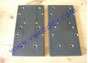 MK2 Caddy Inca Van Axle Lowering Drop Plates