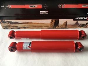 VW Caddy MK3 2K Rear Koni Shortened Adjustable Shocks for Lowered Caddys