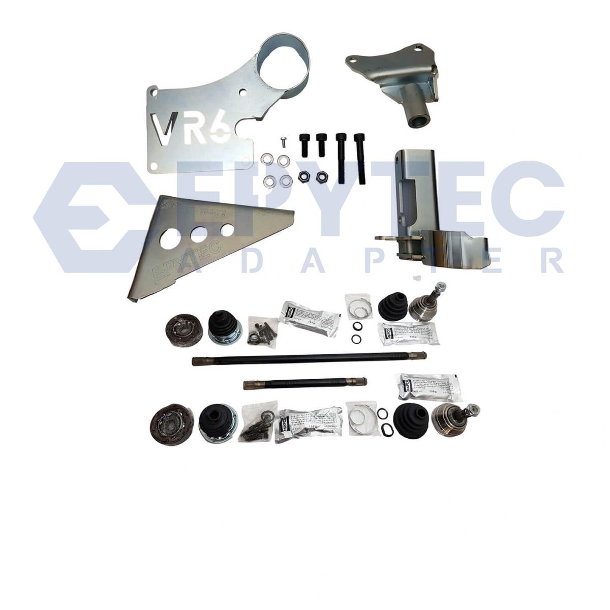 MK1 Golf VR6, 2 8 & 2 9 Engine Mounting Kit 5Sp 02A 02J with Driveshafts