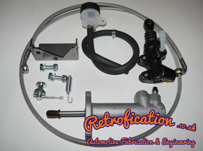 MK1 Golf 02A & 02J Hydraulic Clutch Conversion DIY Kit