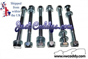 VW Caddy Mk1 Pickup 1979-93 Leaf Spring / Shackle Nuts & Bolts