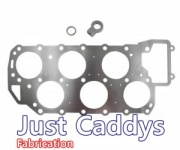 12v VR6 Decompression Plate with oil feed