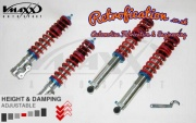 VW MK2 Golf / Jetta V-Maxx Coilover Lowering Kit Xxtreme (Excludes Syncro)