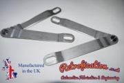 VW MK1 Caddy Stainless Steel Tailgate Hinges / Stays