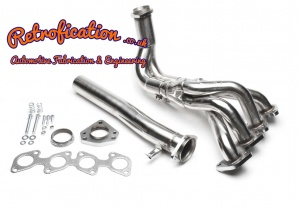 VW MK1 Golf Caddy Scirocco 16v 4-2-1 Stainless Exhaust Manifold