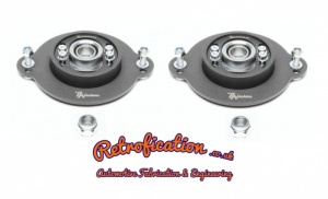 MK1 Golf / Caddy / Scirocco  Spherical Bearing Camber/Caster Top Mounts