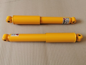 VW Caddy MK1 Pickup Rear Koni Sport Yellow Adjustable Dampers Shock Absorbers