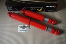 VW Caddy MK1 Pickup Rear Koni Red Adjustable Dampers Shock Absorbers