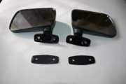 VW MK1 Golf, Caddy, Jetta, Scirocco Hagus OEM Flag Door Mirrors (Pair of)