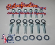 VW Caddy MK2 Van Stub Axle Bolts & Washers x12