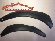 Pair VW MK1 Golf Caddy Rear Wheel Arch Stone Guard Trims 171853931/2A