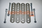 VW Caddy MK1 Pickup Adjustable & Extended Rear Spring Shackles